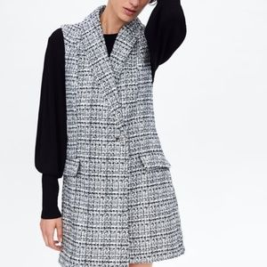 NWT Zara Tweed Dress
